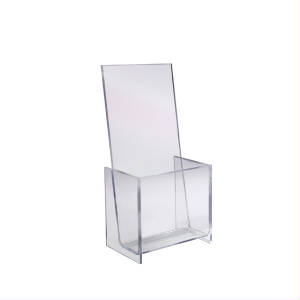 acrylic counter top brochures literature holders sign holders - Rack Card Holders